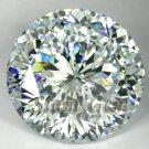 4.0ct. RAVISHING BRILLIANT LAB CLEAR WHITE DIAMOND ROUND