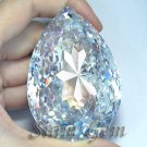 1285+ct. VERY HUGE BRILLIANT LAB CLEAR WHITE DIAMOND PEAR
