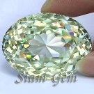 1297+ct. VERY GIANT BRILLIANT LAB CANARY DIAMOND OVAL CLOSE CUT