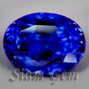 1.05ct. AFRICAN NATURAL CORNFLOWER BLUE SAPPHIRE OVAL GEM