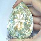 1319+ct. VERY GRAND BRILLIANT LAB CANARY DIAMOND PEAR CLOSE CUT