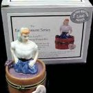 I Love Lucy Porcelain Hinged Box Midwest 50th Anniversary