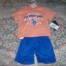 U.S. Polo Association Two Piece Shirt Hoodie And Pants Set NWT