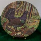 Capercaillie Decorative Collectible Plate Game Bird