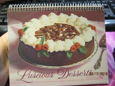 Luscious Desserts & Light Desserts From Current - 1988