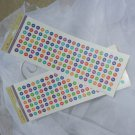 Glitter Dot Alphabet Stickers Paper Craft Supplies