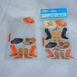 Stickopotamus Cowboy set Paper Craft Supplies