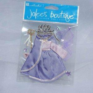 Ek Success Jolee's Princess 3d Sticker Black Paper Craft supplies