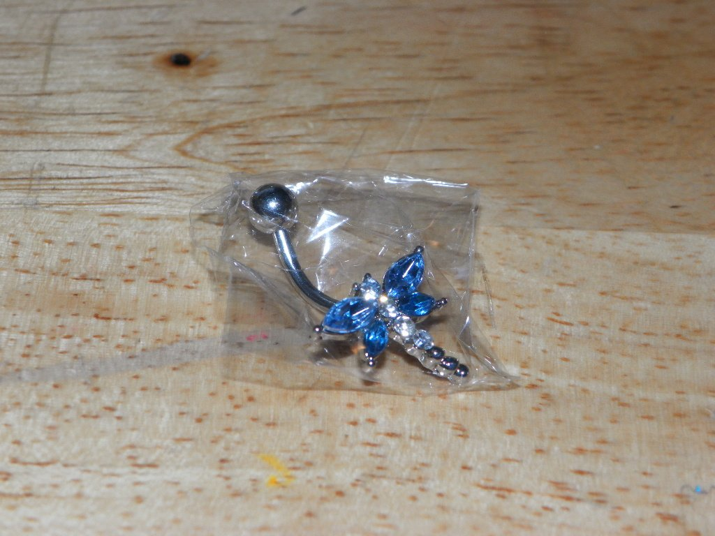 Blue Dragonfly Navel 802