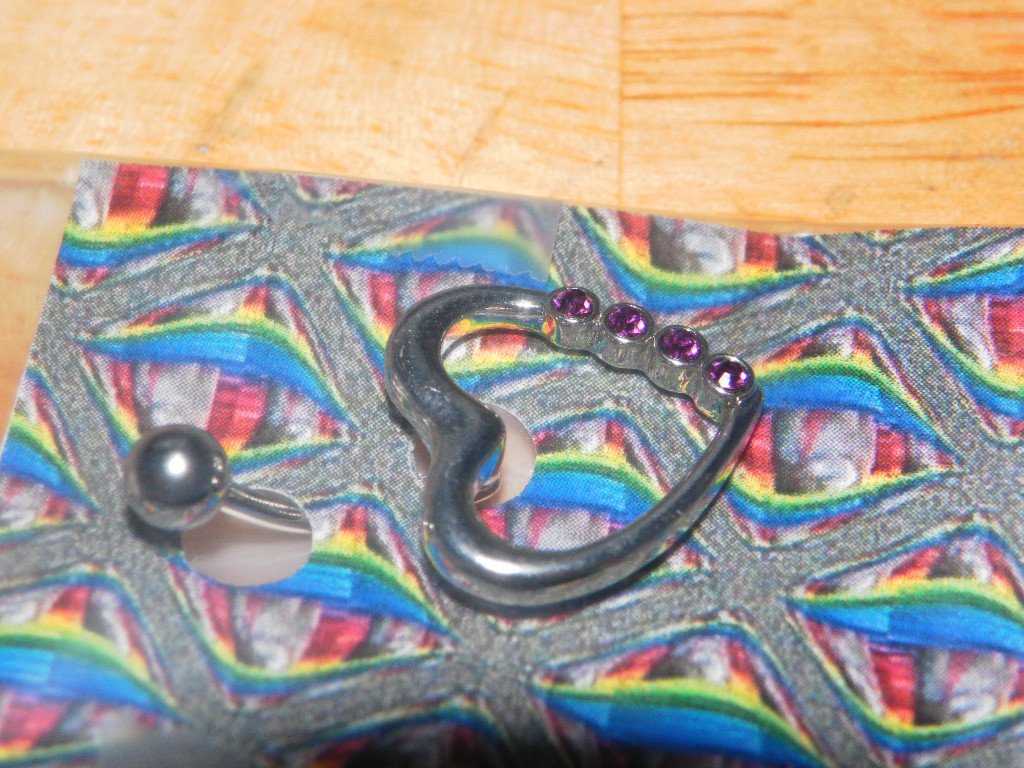 Heart 4 Gems Purple 62
