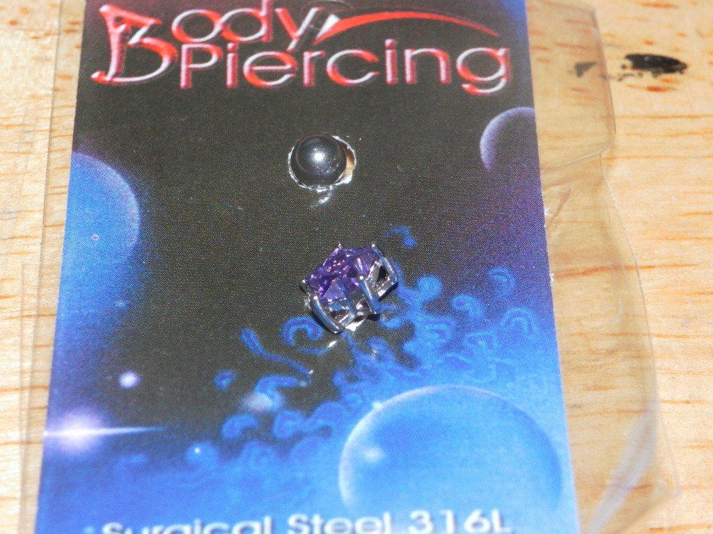 Star Gemstone Purple 19