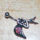 Fairy Red Multi Wings Navel 784