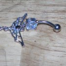 Gothic Butterfly Navel 197