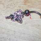 Small Fairy Dangle Pink Navel 207