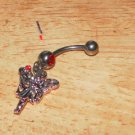 Small Fairy Dangle Red Navel 207