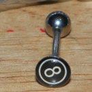 8 Ball Tongue Style 2 Flat 357