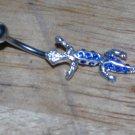 Blue Gem Lizard Navel 383