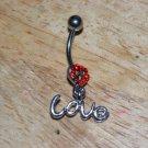 Love Heart Red Navel 446
