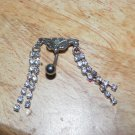 Tribal Double Chains White Navel 460