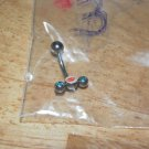 Lawn Mower Style 3 Blue CZ Navel 707