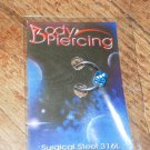 Blue Dice Captive Bead 1501