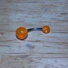 Orange Sparkle Ball Navel 640