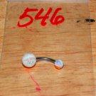Orange White Grey Sparkle Navel 546