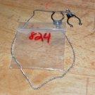 Blue Gem Non Piercing Nipple Chain 824