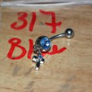 Cross Blue Navel 317