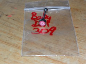 """""""Baby Doll"""" Pink Round Tongue 309"""