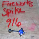 Fireworks Large Spike Navel 916