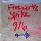 Fireworks Small Spike Navel 916