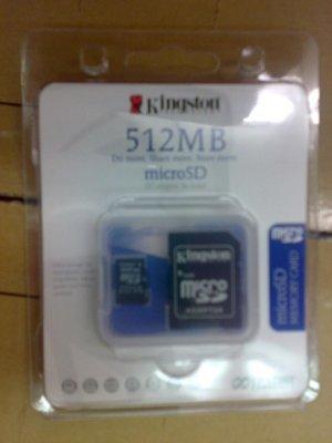 Micro SD (512MB)