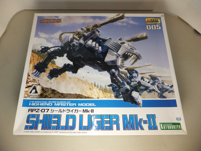 � ZOIDS RPZ-07 Shield liger Mk-II 1/72 HMM005 Takara Tomy Kotobukiya Japan �