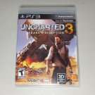 ★ Uncharted 3: Drake's Deception Sony PlayStation 3 PS3 Video Game 2011 ¤ MINT ★