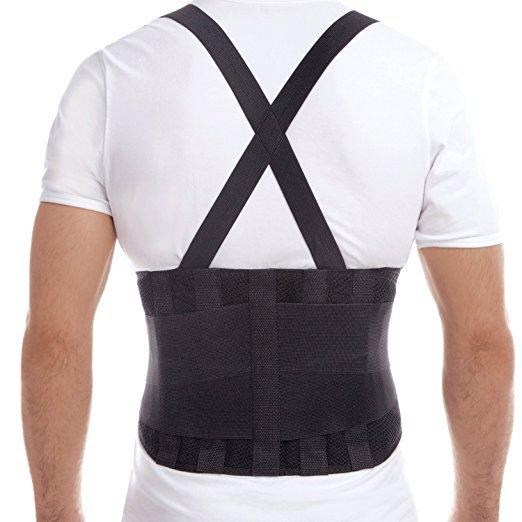 """� Premium Lumbar Lower Back Brace Support Belt (S) Small Waist/Belly 34"""" ¤ NEW ¤ �"""