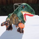 "★ BIG 18"" Tall Fiesta Nature Works Green T-Rex Dinosaur Plush Toy #A27587 - NEW ★"
