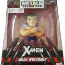 ★ Marvel Jada Die-Cast Metal Logan Wolverine M239 4.5 inches Figure - NEW ★