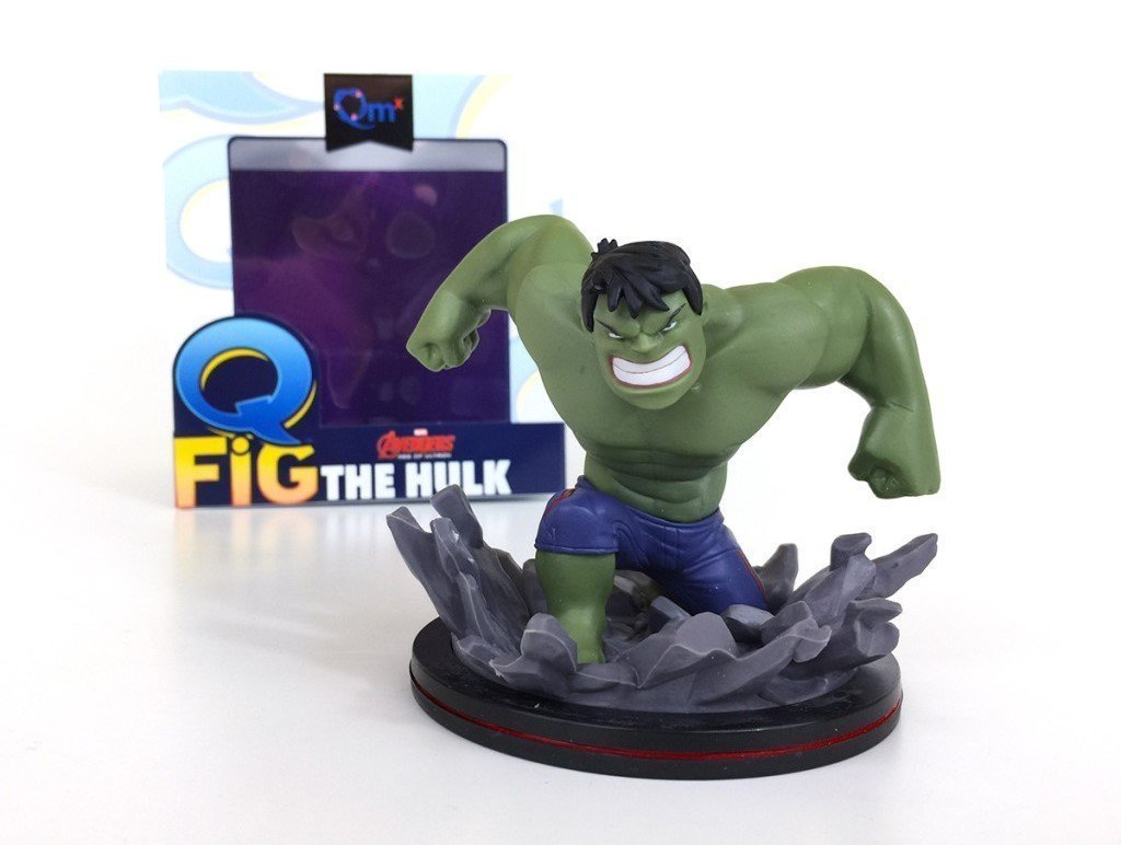 � The Avengers THE HULK Marvel Q-Fig Figure Quantum Mechanix Loot Crate - NEW �