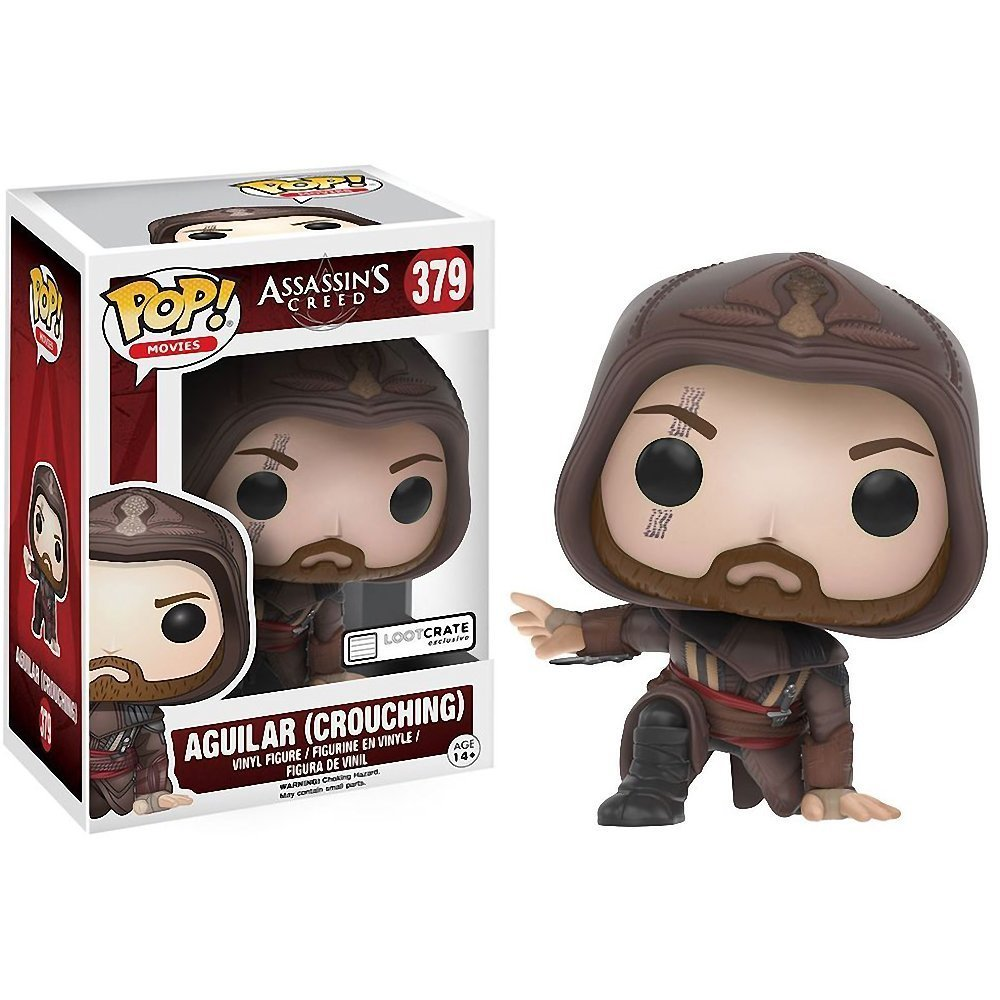 � Assassin's Creed Aguilar Crouching Funko Pop #379 Collector Figure LootCrate NEW �
