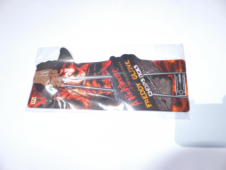 � LootCrate Exclusive Nightmare On Elm Street Freddy Krueger Glove Chopstick - NEW �