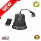 ★ Woods WW Coleman Outdoor 24 Hour Outlet Photocell Timer with Remote Black - NEW ★