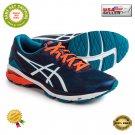 ★ ASICS GEL GT-1000 5 Indigo Blue/Hot Orange Men's Running Shoes T6A3N Size US 13 ★