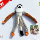 ★ Squirrel Monkey (Tag-Along Tails) Plush Stuffed Animal Toy 10 Inches Tall - NEW ★