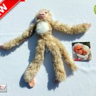 "★ White Bald Uakari (Tag-Along Tails) Plush Stuffed Animal Toy 10"" Tall - NEW ★"