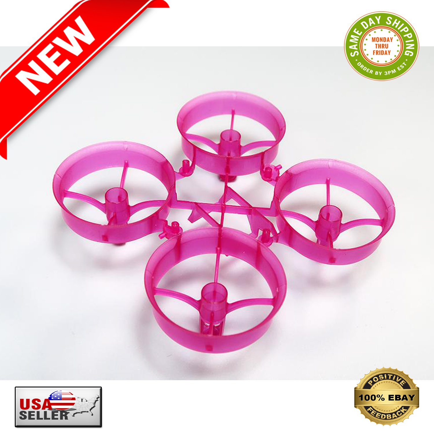 � New Bee Drone Blade Inductrix Purple Cockroach Super-Durable Upgraded Whoop Frame �