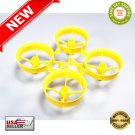 ★ New Bee Drone Blade Inductrix Yellow Cockroach Super-Durable Upgraded Whoop Frame ★