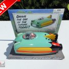 ★ Schylling Friction Car Of The Future Space Ship Tin Metal Toy 50 Style - NEW ★