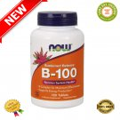 ★ B-100 Sustained Release 100 Tabs - Now Foods ★
