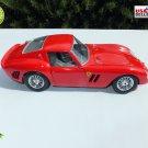 ★ FERRARI GTO 1962 Diecast Scale Model Car 1:13 Collectible RED Burago 3011 ★